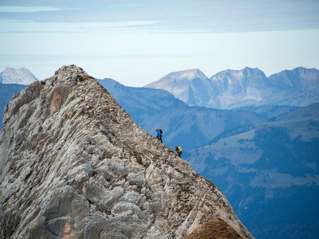 Gipfel der Waadtländer Alpen