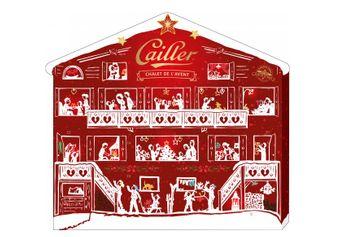 10 x 1 Adventskalender von Cailler