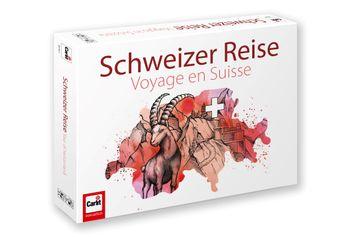 Gewinnen Sie 5x1 Brettspiel «Schweizer Reise»