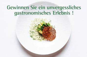 Gewinnen Sie ein unvergessliches gastronomisches Erlebnis!