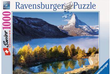 Gewinnen Sie fünf 1000-teilige Ravensburger Puzzles «Matterhorn»