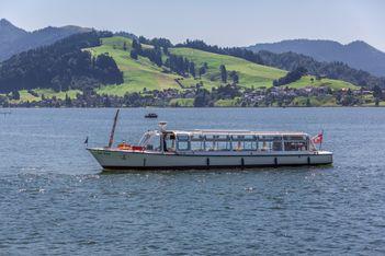 Sihlseerundfahrt mit der MS Angelika - Schifffahrt - Kanton Schwyz -  Aktivitäten