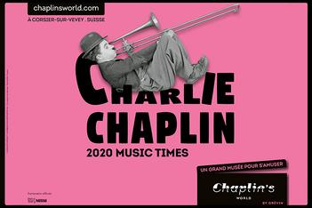 Das Museum in Vevey feiert vom 13. Juni bis am 30. September 2020 die Musik von Charlie Chaplin