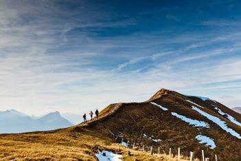Wandern zu den schönsten Schweizer Aussichten