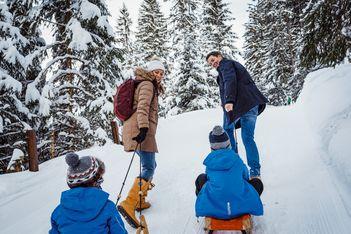 Schlitteln in der Schweiz verspricht Riesenspass auf zwei Kufen für die ganze Familie – Hier finden Sie Top-Schlittelbahnen in Ihrer Nähe!