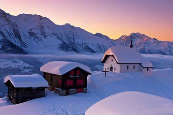 Die schönen Seiten der Kälte – die kältesten Orte der Schweiz