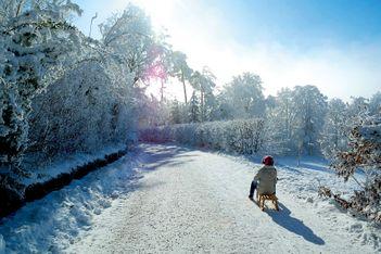Winterzauber auf dem Zürcher Hausberg