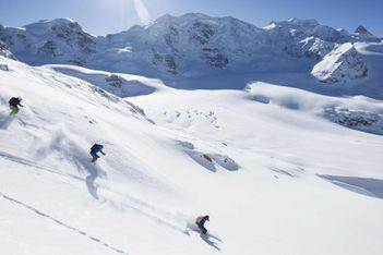 Tiefschwarzer Nervenkitzel nur für geübte Skifahrer