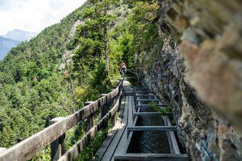 Bergabenteuer ohne Grenzen in der berühmten Destination im Wallis