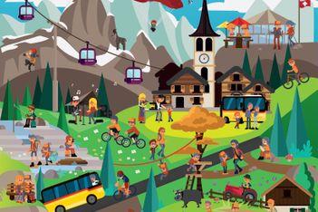 Entdecken Sie diesen Sommer überraschende Ziele in der Westschweiz und im Oberwallis mit diesen neun Ausflugsvorschlägen von PostAuto