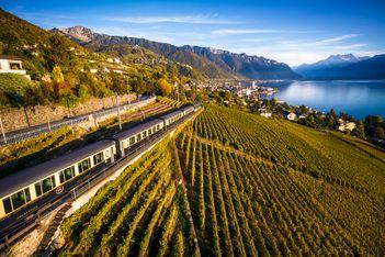 Gourmetfahrten mit der MOB-Linie ab Montreux