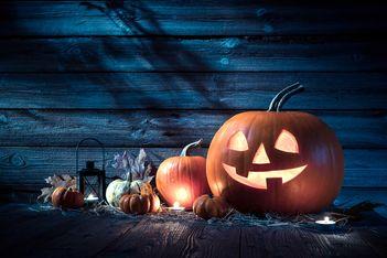 Halloween im Salzbergwerk Bex vom 9. bis 30. Oktober 2021