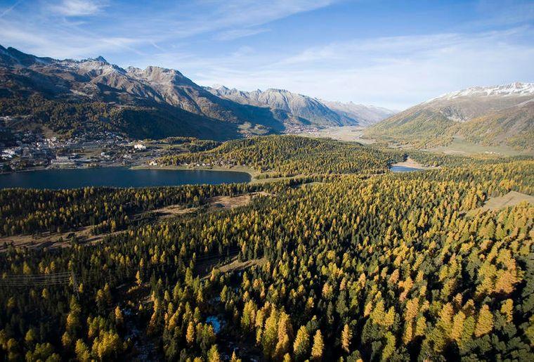 St. Moritz im Herbst - Graubünden Ferien - Herbst in der Schweiz.JPG