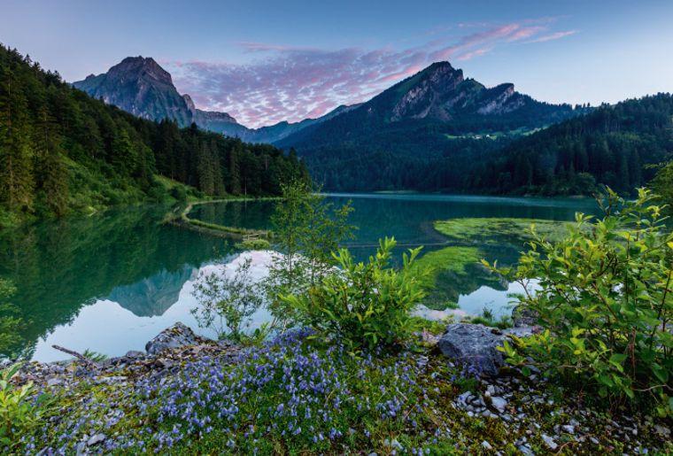 Morgenidylle am Obersee bei Näfels.jpg