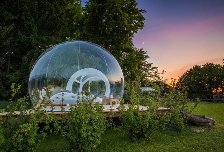 Bubble Hotel In Deutschland