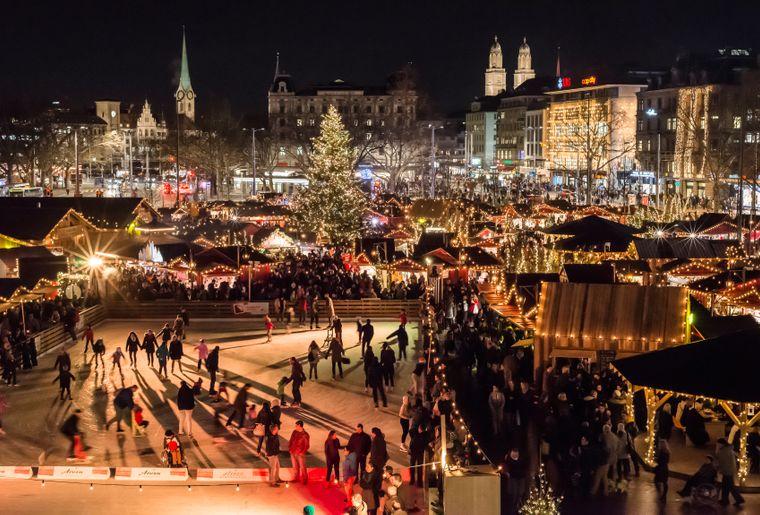 Weihnachtsmarkt Zürich.Zauberhafter Advent In Zürich Neuigkeiten Freizeit Ch