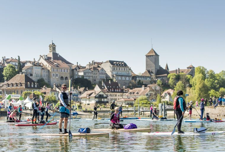 slowUp Murtensee am 29.4.2018 auch per Stand Up Paddle - Foto slowUp Murtensee.jpg
