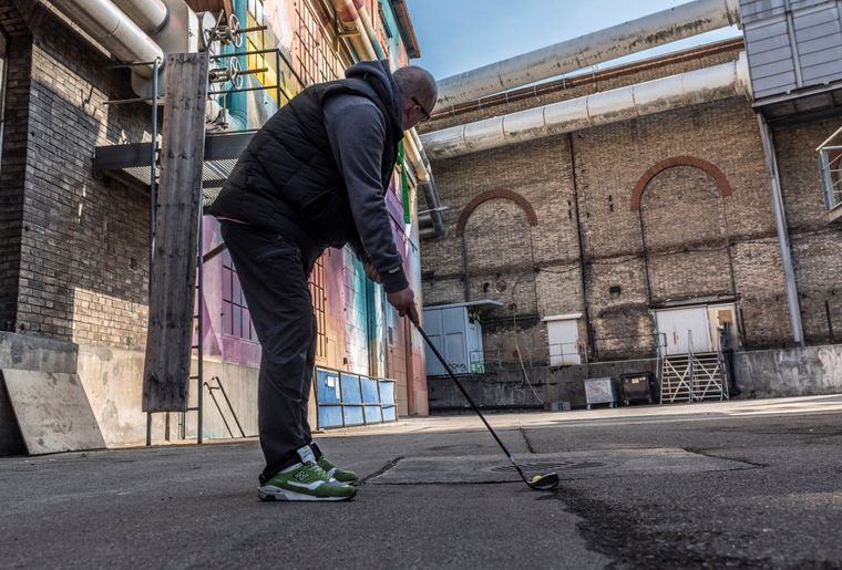 Urban Golf in Winterthur