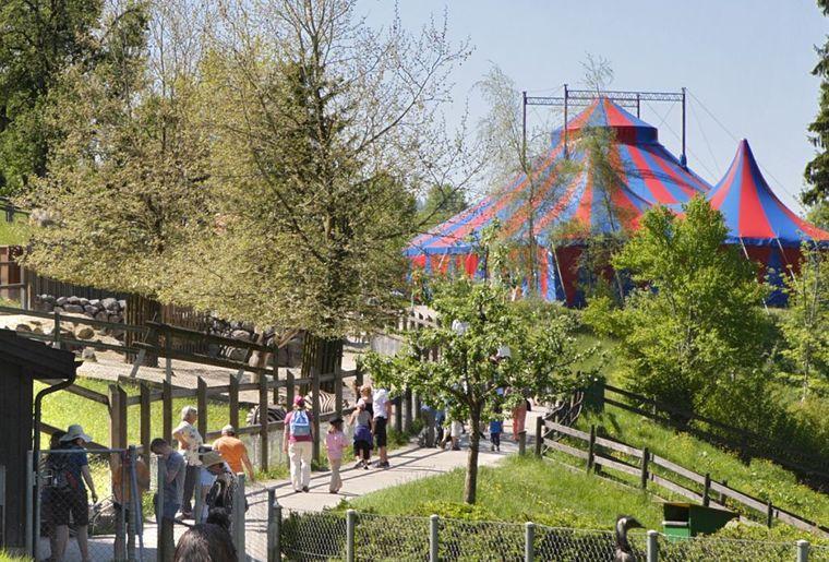 Abenteuerland Walter Zoo in Gossau