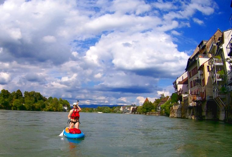 Stand Up Paddling-Tour Rheinfelden