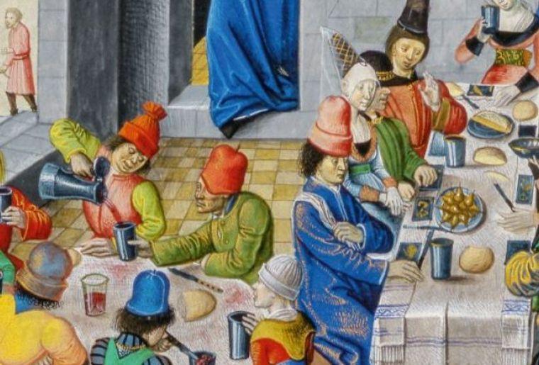 Lecker! Essen und Trinken im Mittelalter