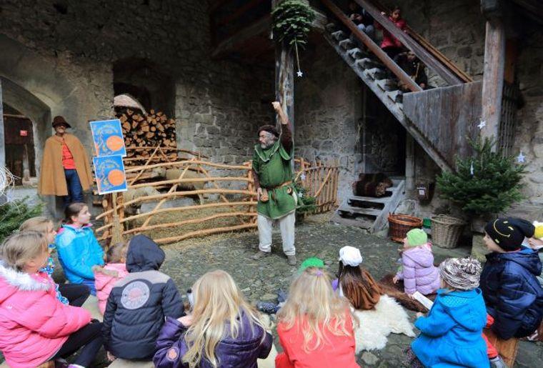 Weihnachten im Schloss Chillon