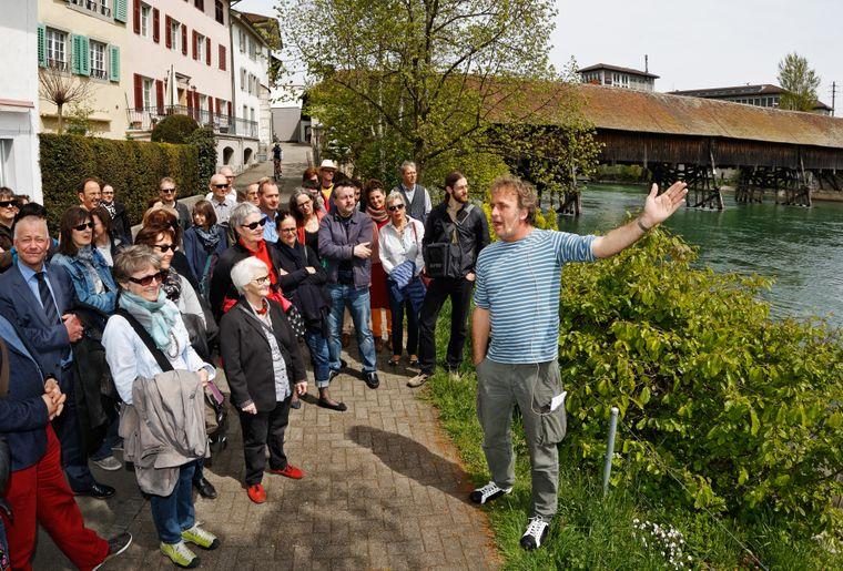 Schweizer Schriftstellerweg in Olten