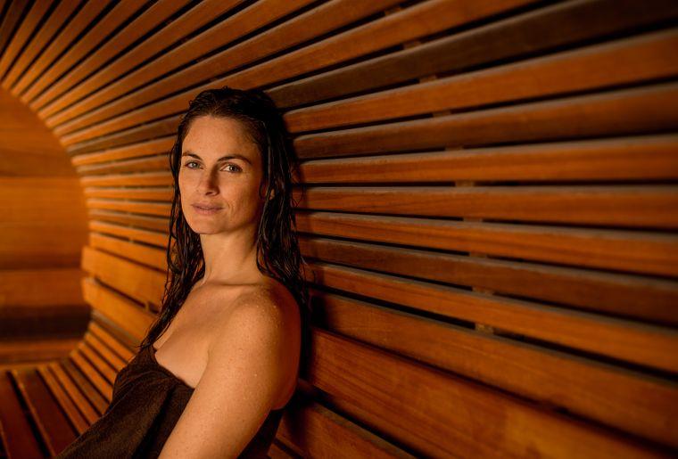 Neueröffnung der Aquarena Sauna