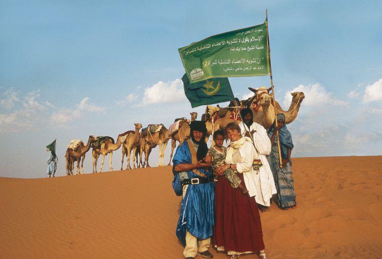 Coypright TARGET-Nehberg_Annette+Rüdiger Nehberg und ihre Karawane der Hoffnung für die Mädchen Afrikas.jpg