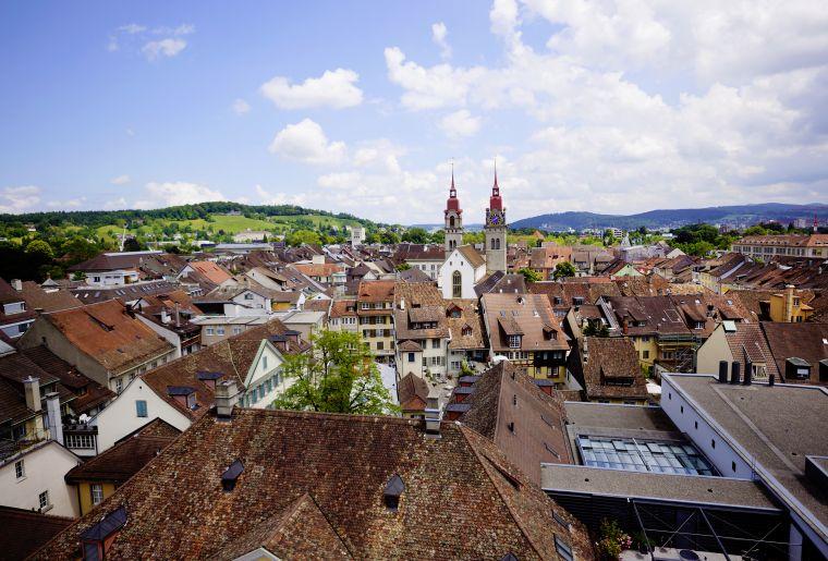 Überblick Altstadt Winterthur