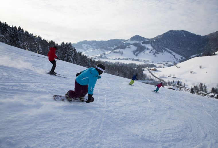 Wintersport in Goldingen Atzmaennig