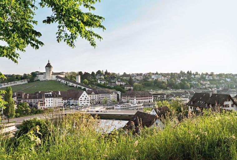 Munot und Schaffhausen