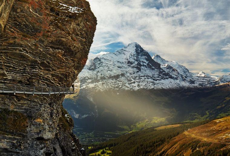 Grindelwald, Cliff Walk