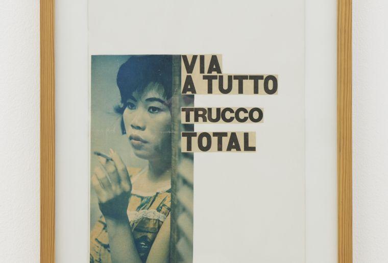 B10.La guerriglia, 1964-5, 49 x 38.5 cm, collage on paper, Ketty La Rocca, 2020, Fri Art. Photo Guillaume Baeriswyl.jpg