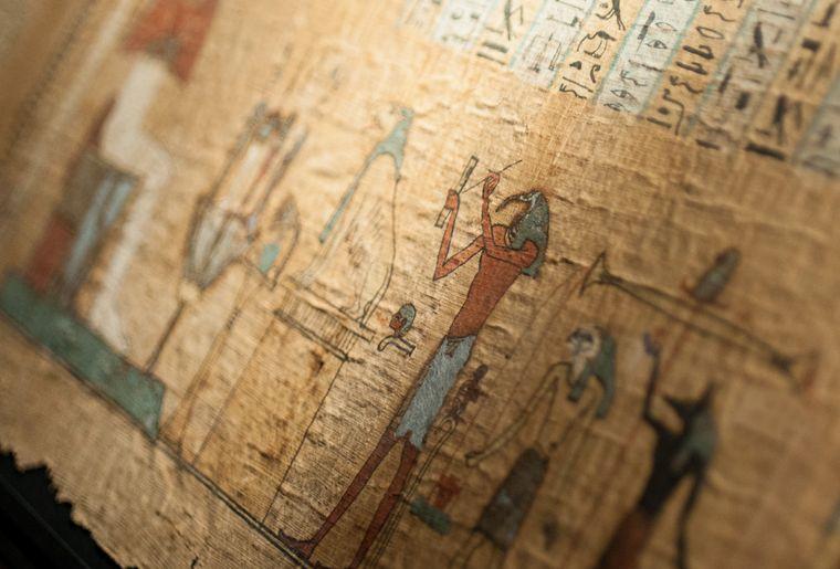 Livre des Morts d'Hor, Thèbes,-IVe s. (détail).jpg