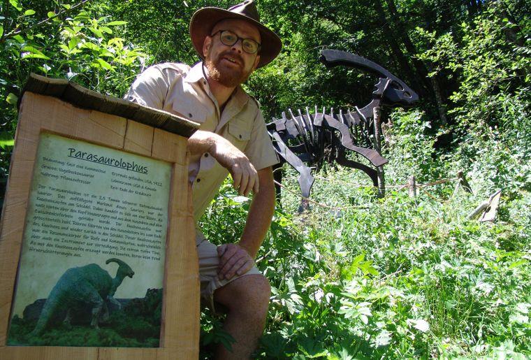 Bart Van hunskerken - der Initiator und Macher des Saurier-Trails .jpg