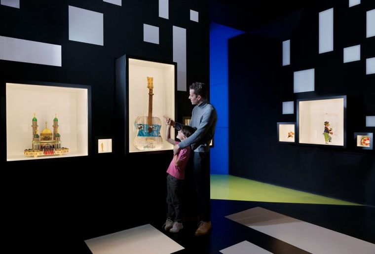 IKRK Museum Gegenstände von Gefangenen, Architekt Gringo Cardia – ©MICR photo Fred Merz.jpg
