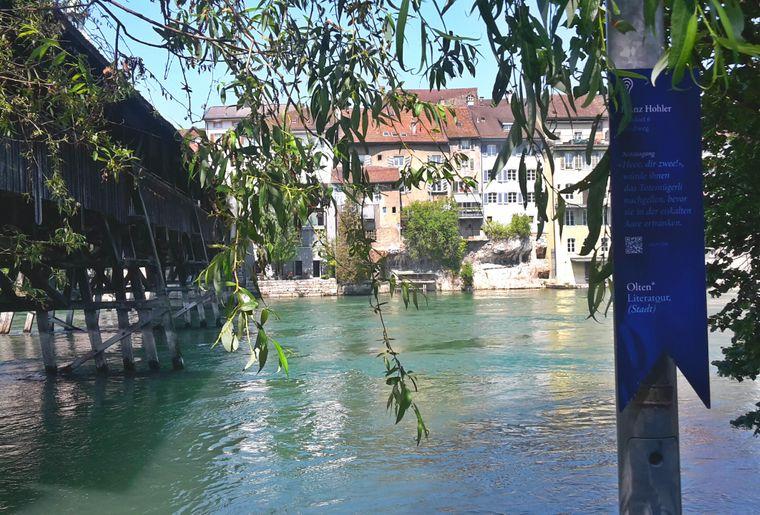 Stele Franz Hohler c Region Olten Tourismus.jpg