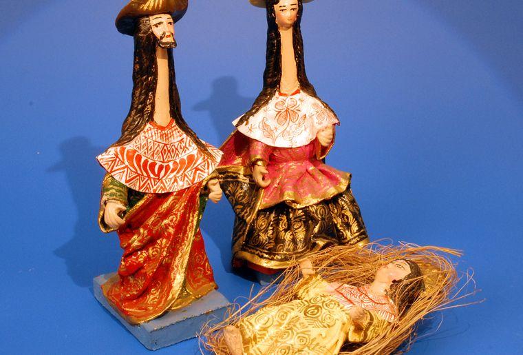 Peru- Hilario Mendivil, Material eine Art Pappmaché.jpg