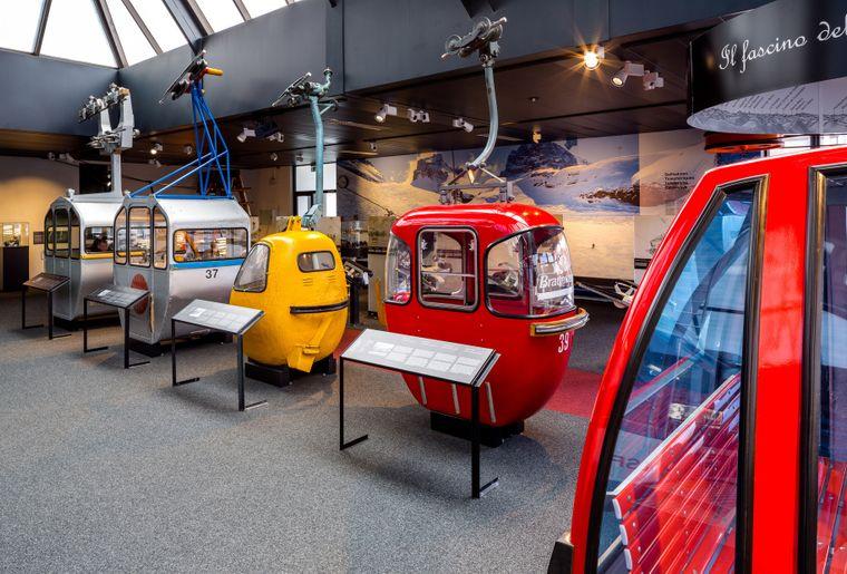 Die Bergbahnszene praesentiert sich in vier Ausstellungsbereichen. Bild Roger HofstetterVerkehrshau.jpg