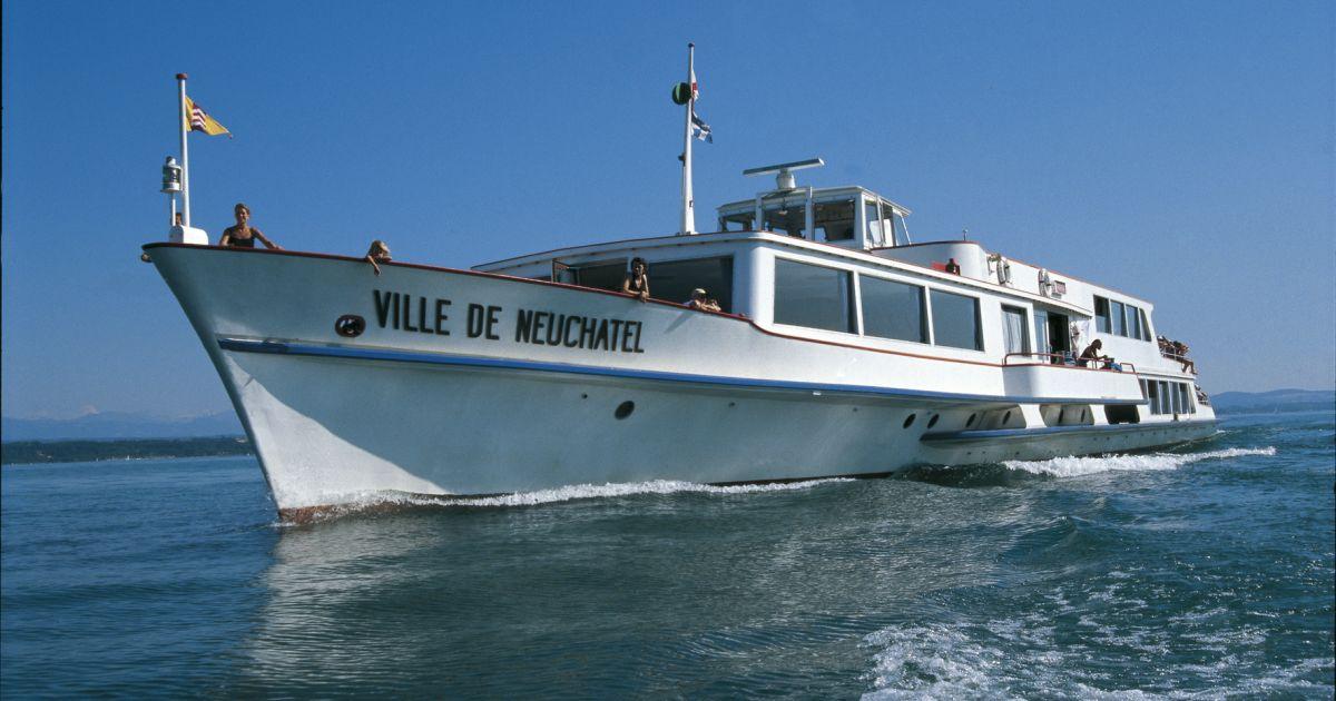 Schifffahrt auf dem Neuenburgersee