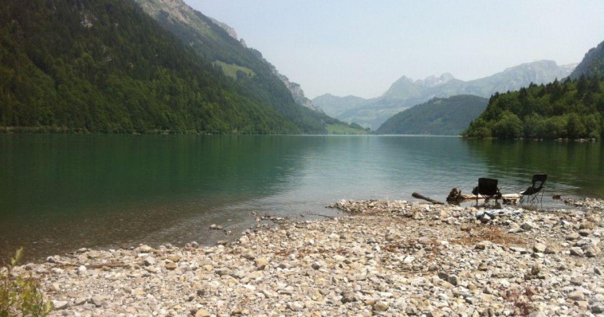 Die schönsten Bergseen der Schweiz: Klöntalersee