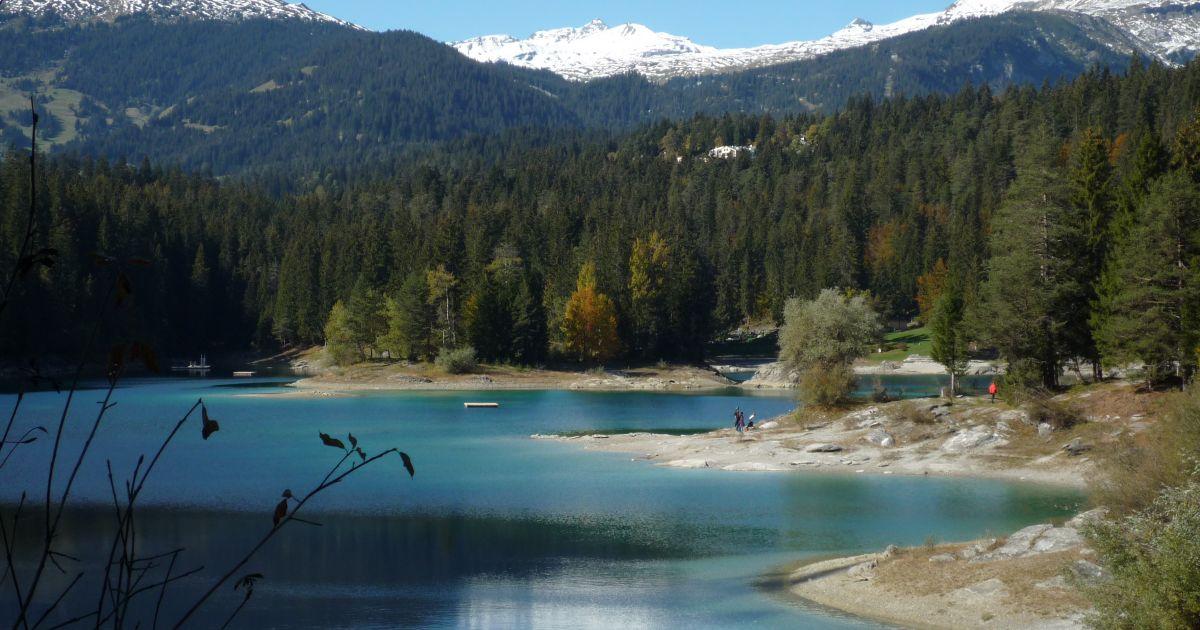 Die schönsten Bergseen der Schweiz: Caumasee