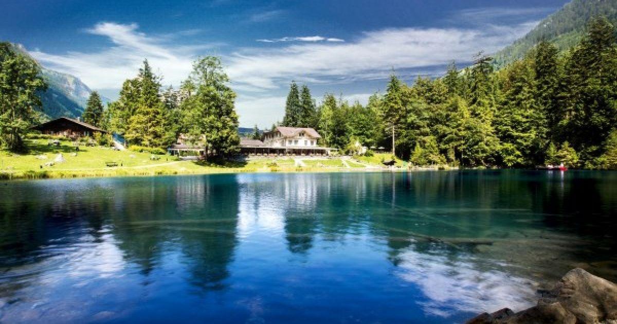 Die schönsten Bergseen der Schweiz: Blausee