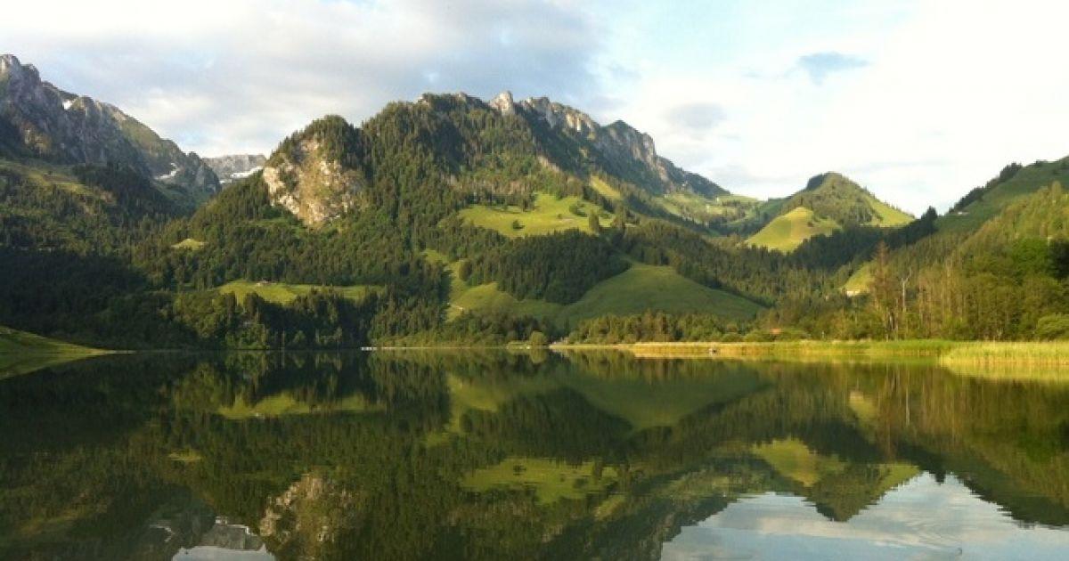 Die schönsten Bergseen der Schweiz: Schwarzsee