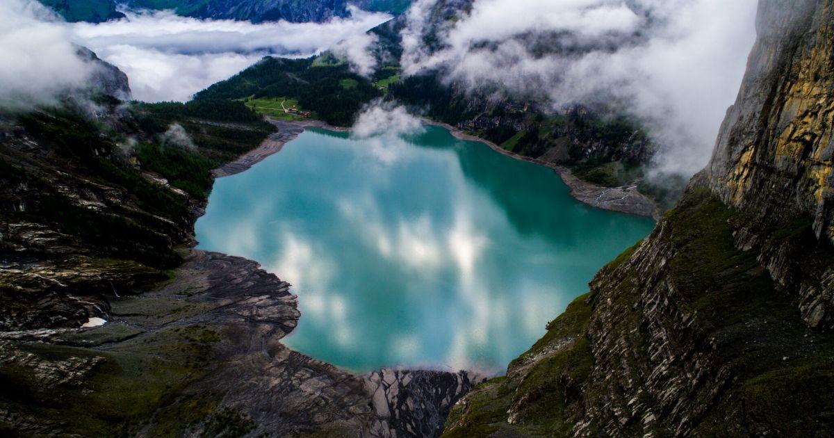 Die schönsten Bergseen der Schweiz: Oeschinensee