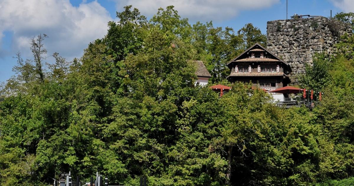 Die schönsten Inseln der Schweiz: Schwanau im Lauerzersee