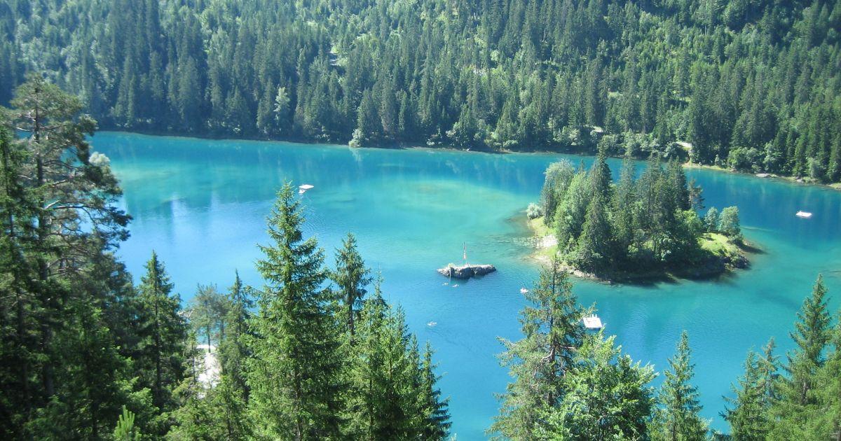 Die schönsten Inseln der Schweiz: Caumasee