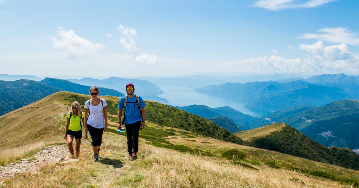 Höhenwanderung Monte Tamaro Monte Lema