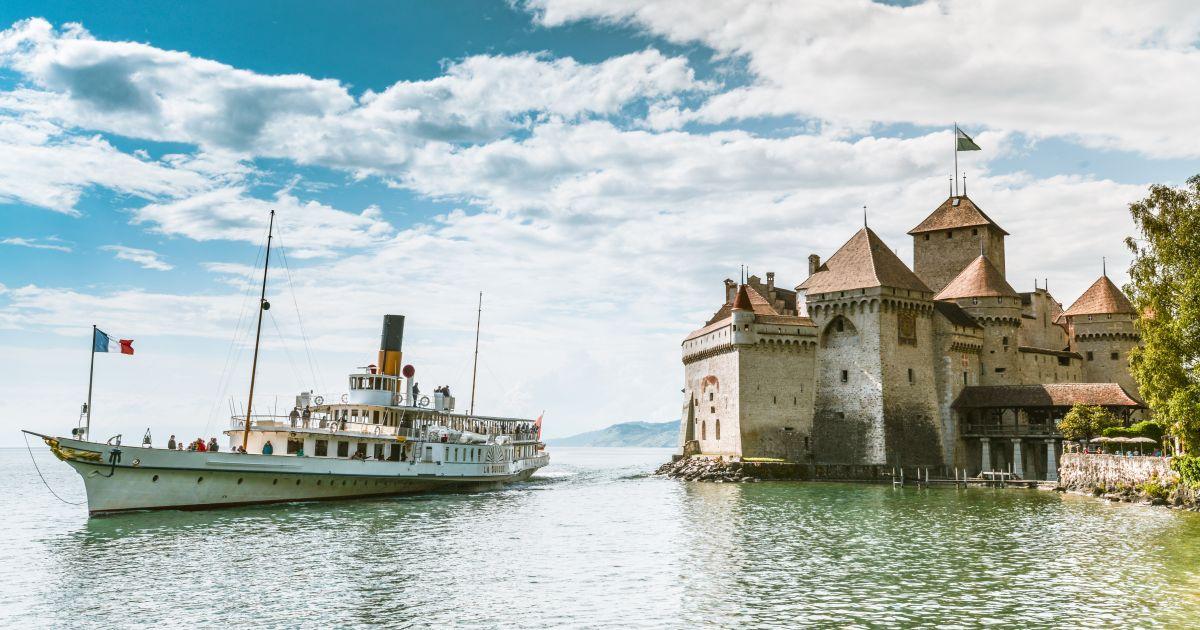 Schloss Chillon an der Montreux Riviera